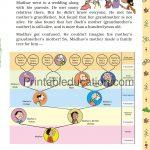 Class 5 five Chart worksheet i