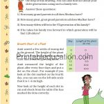 Class 5 five Chart worksheet j