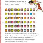 Class 5 five multiple and factor worksheet b
