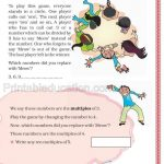 Class 5 five multiple and factor worksheet c