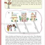 Class 5 five multiple and factor worksheet l