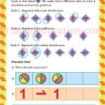 Class 5 five pattern worksheet b