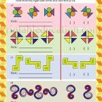 Class 5 five pattern worksheet d
