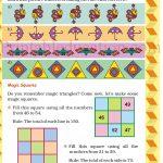 Class 5 five pattern worksheet e