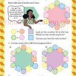 Class 5 five pattern worksheet f