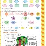 Class 5 five pattern worksheet g