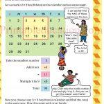 Class 5 five pattern worksheet i