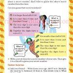 Class 5 five pattern worksheet l