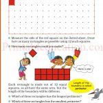 Class 5 five square worksheet a