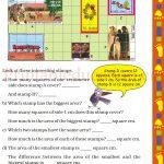 Class 5 five square worksheet b