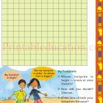 Class 5 five square worksheet d