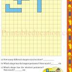 Class 5 five square worksheet l