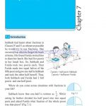 Class 6 six fraction worksheets a