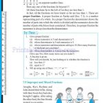 Class 6 six fraction worksheets f