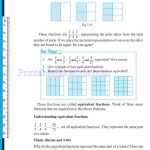 Class 6 six fraction worksheets j