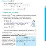Class 6 six fraction worksheets m