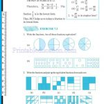 Class 6 six fraction worksheets n