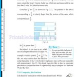 Class 6 six fraction worksheets p