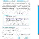 Class 6 six fraction worksheets q