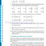 Class 6 six fraction worksheets v
