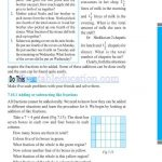 Class 6 six fraction worksheets w