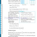 Class 6 six fraction worksheets x