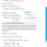 Class 6 six fraction worksheets za