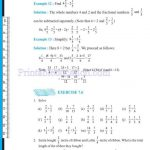 Class 6 six fraction worksheets zb