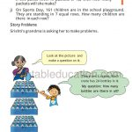 Class four 4 Division Worksheet c