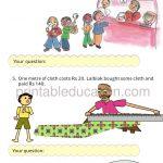 Class four 4 Division Worksheet e