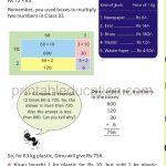 Class four 4 Math Word Problems f