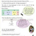Class four 4 Math Word Problems g