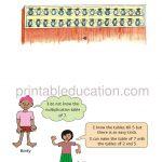 Class four 4 Multiolication Worksheet b