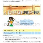 Class four 4 Multiolication Worksheet d
