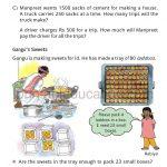 Class four 4 Multiolication Worksheet g