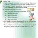 Class four 4 Multiolication Worksheet h
