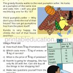 Class four 4 fraction worksheet halves and quarters c