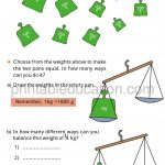 Class four 4 fraction worksheet halves and quarters h