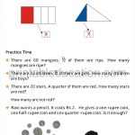 Class four 4 fraction worksheet halves and quarters i