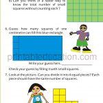 Class four 4 measurement worksheet l