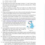 Class six 6 algebra worksheets g