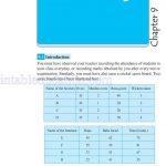 Class six 6 data handling worksheets a