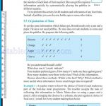Class six 6 data handling worksheets c