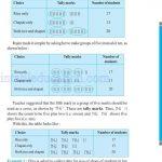 Class six 6 data handling worksheets d