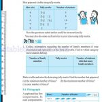 Class six 6 data handling worksheets e