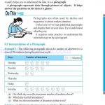 Class six 6 data handling worksheets f
