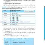 Class six 6 data handling worksheets h