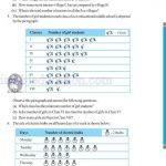 Class six 6 data handling worksheets j