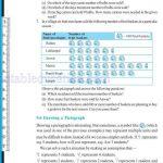Class six 6 data handling worksheets k