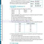 Class six 6 data handling worksheets m